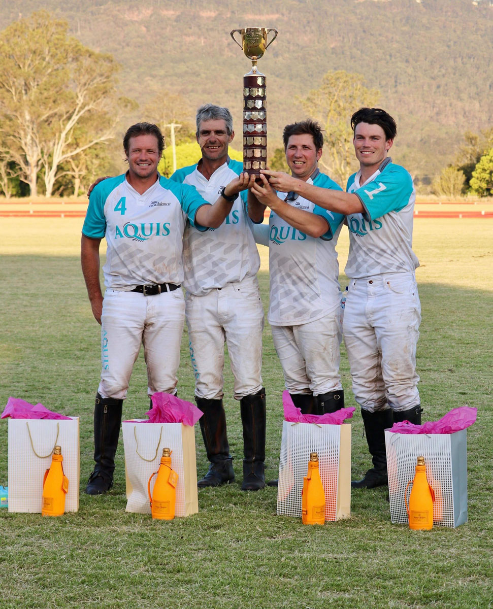 Gold Cup Winning Team: Aquis Polo