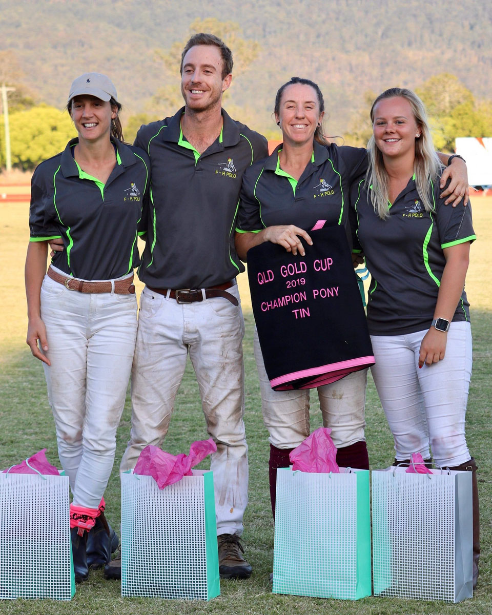 Tin Cup Winners: F-H Polo