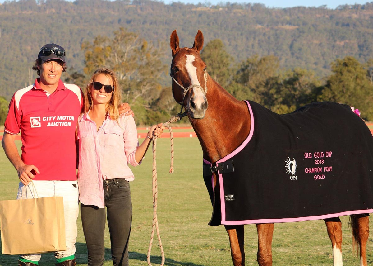 Queensland Gold Cup Champion Pony: Tom Hunt for Pikachu
